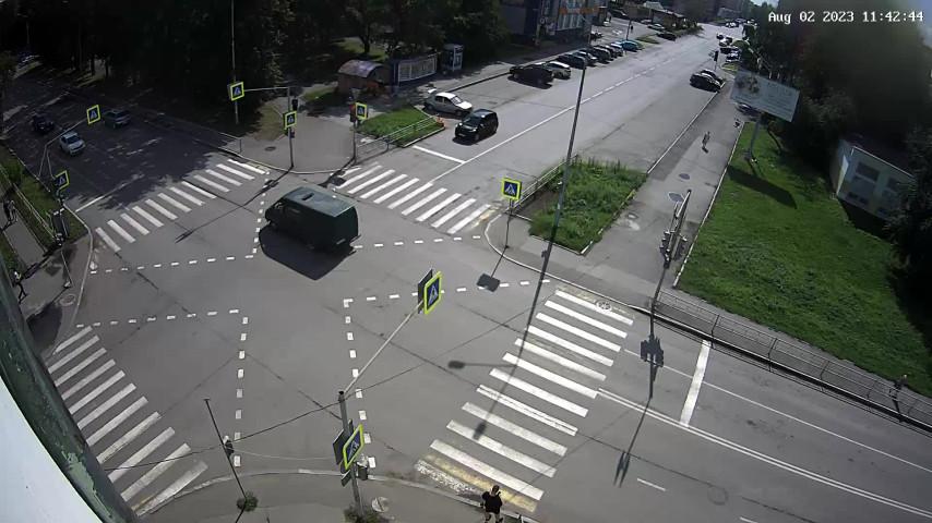 Перекресток ул. Карла Маркса и ул. Красноармейская
