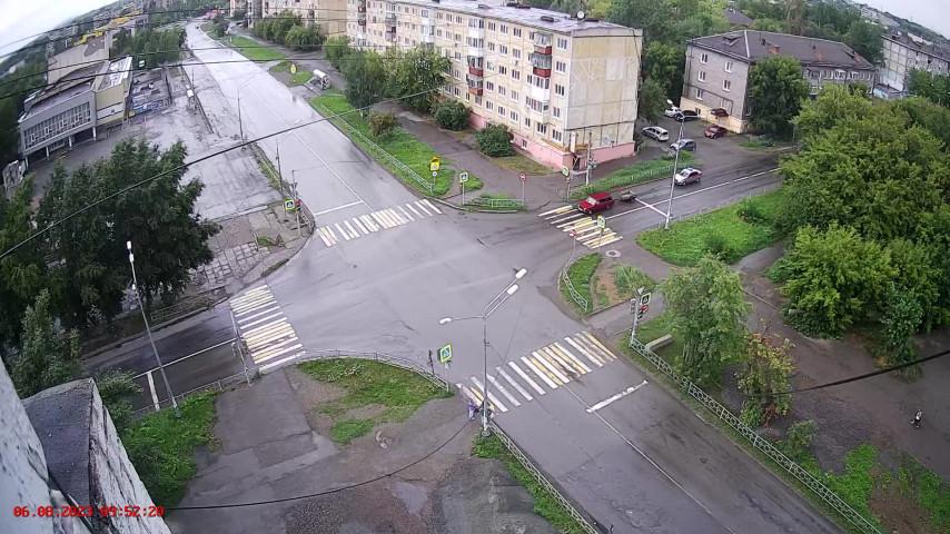 ГДМ, перекресток ул. Циолковского и ул. Пархоменко