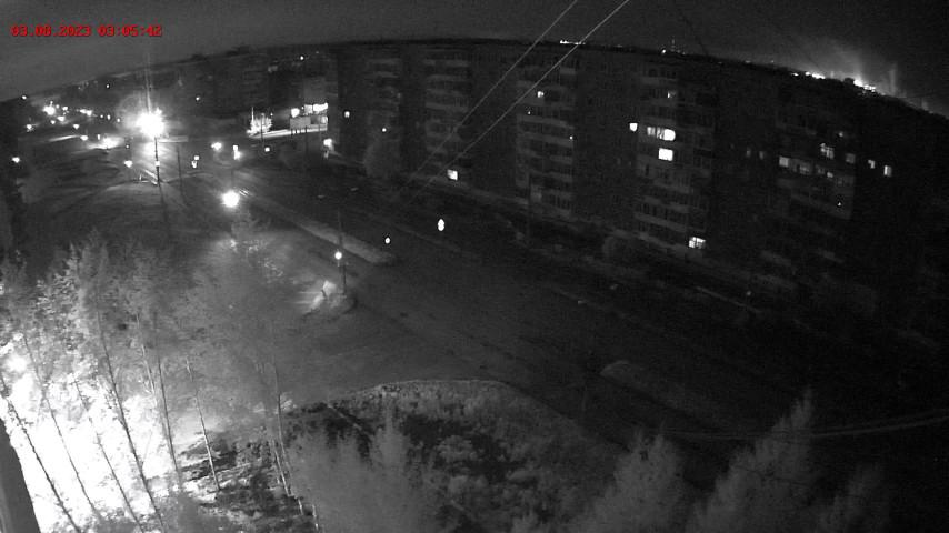 Перекресток ул. Зари и Ленинградского пр-та